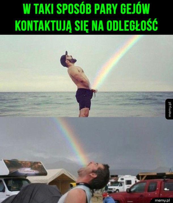 W taki sposób pary gejów się kontaktują