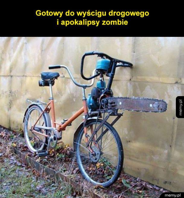 Rower gotowy na wszystko