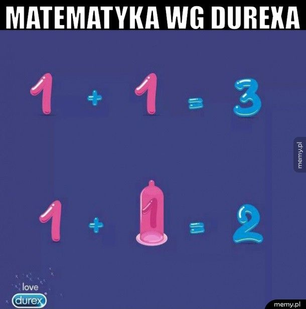 Matematyka wg durexa