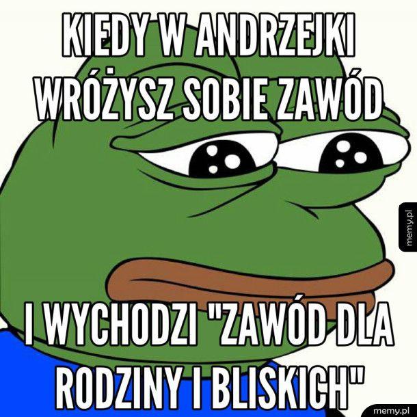 Andrzejkowe Pepe