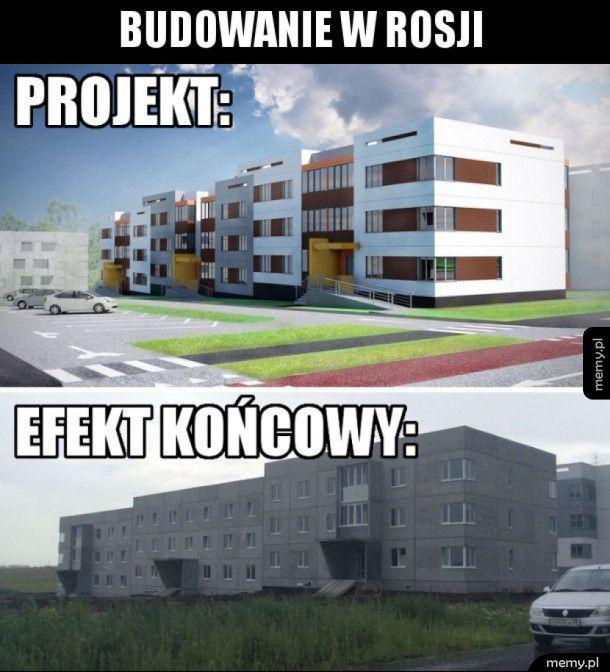 Projekt vs. efekt końcowy