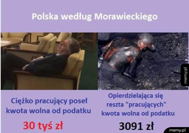 Równość społeczna wg Morawieckiego