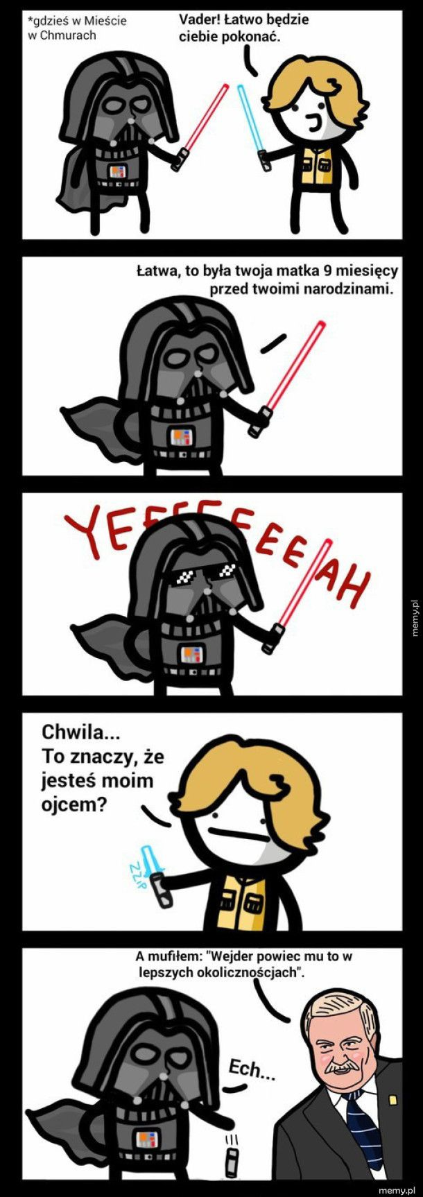 Luke Skywalker vs. Darth Vader