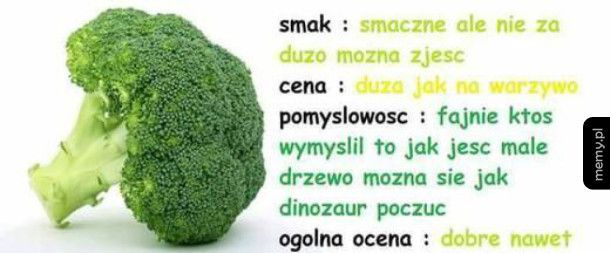 Brokuł taki jest