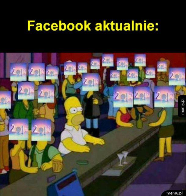 Facebook aktualnie