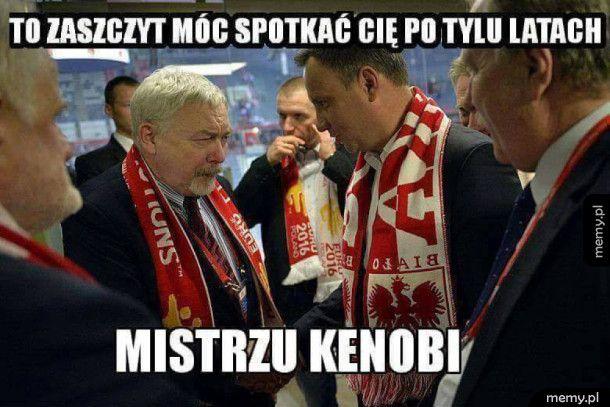 Andrzej Duda spotkał Kenobiego