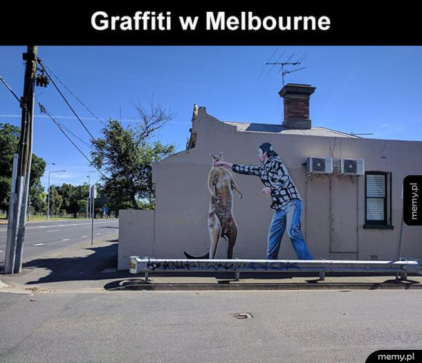 Bardzo ciekawe graffiti