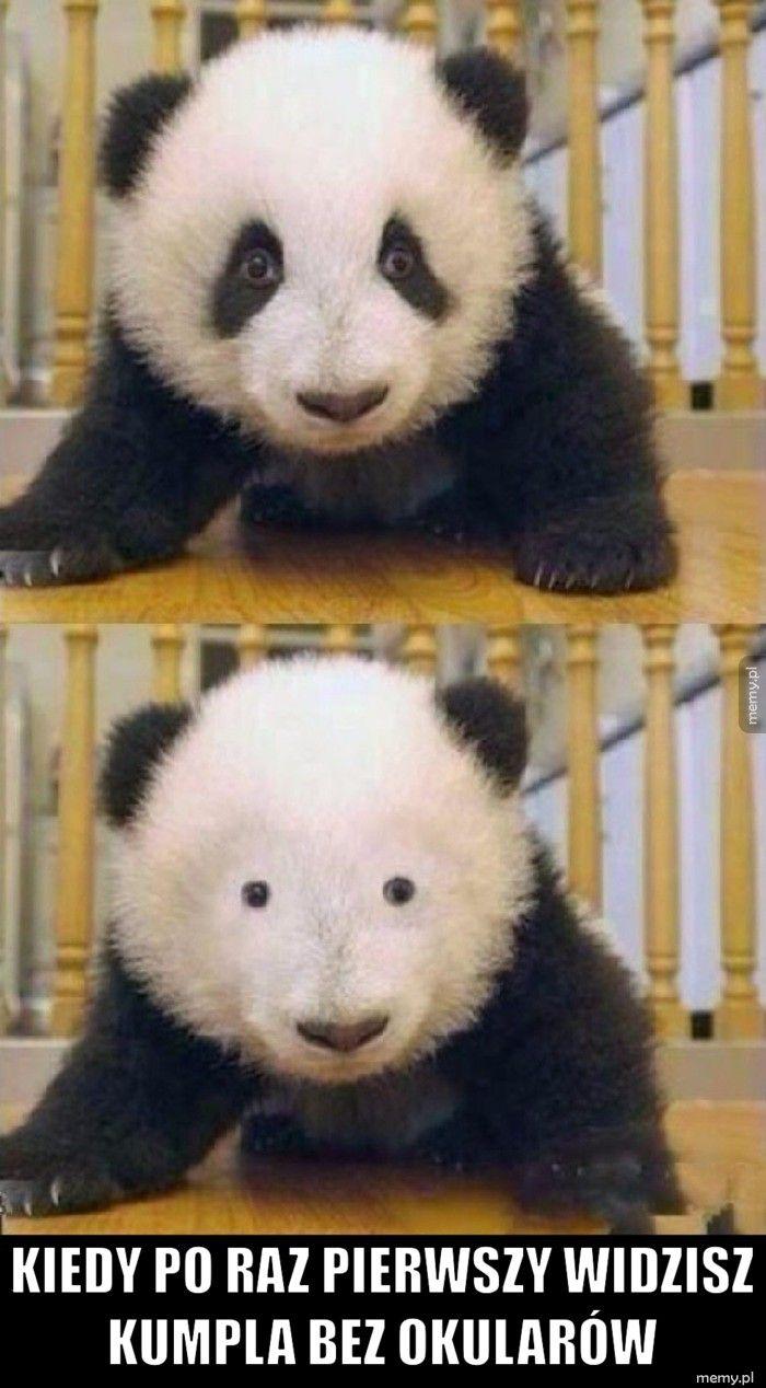 Kiedy po raz pierwszy widzisz kumpla bez okularów