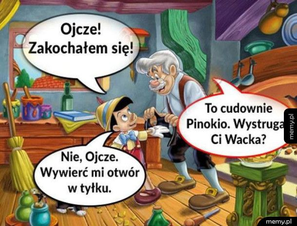 Zakochany Pinokio