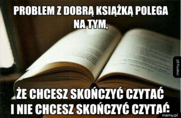 Problem z książką