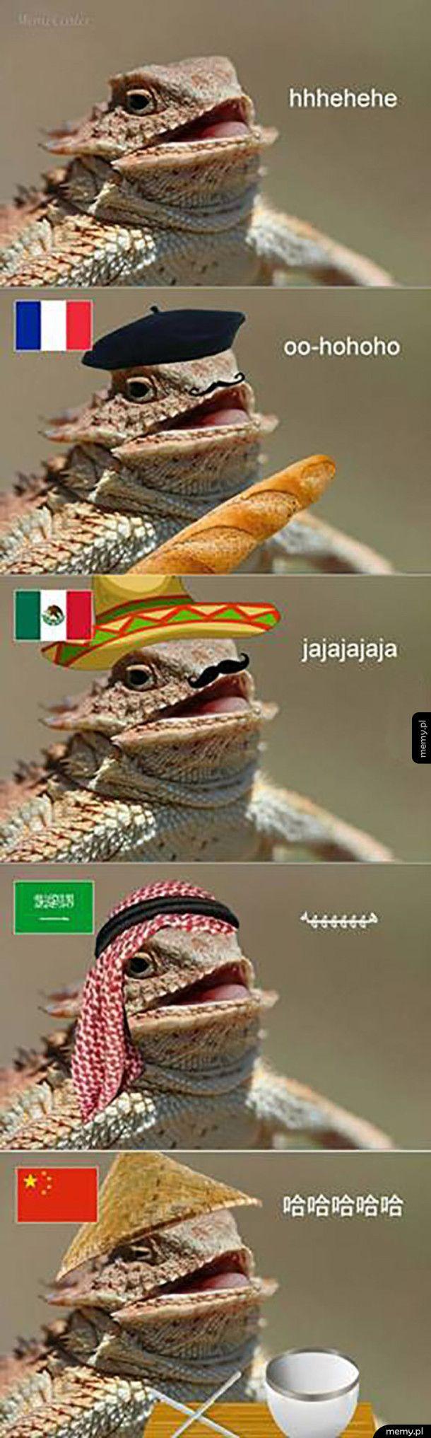 Śmiech iguany
