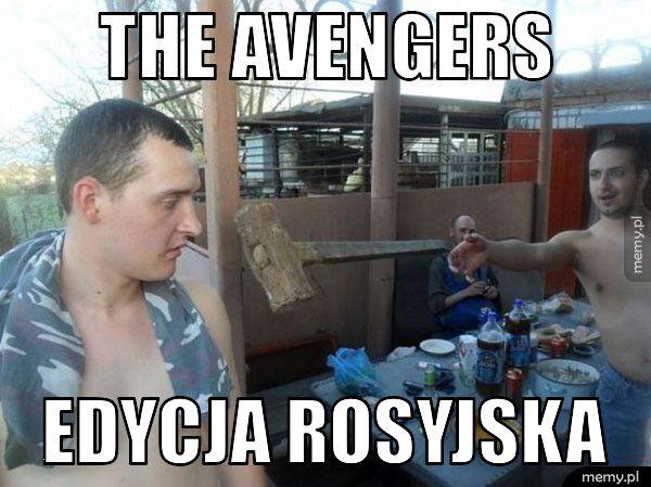 the avengers edycja rosyjska