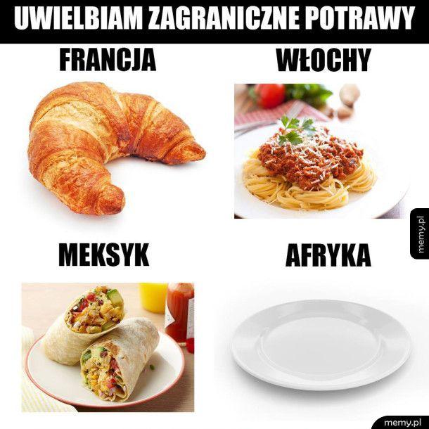 Zagraniczne potrawy