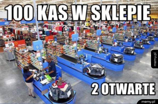 Za każdym razem w sklepie