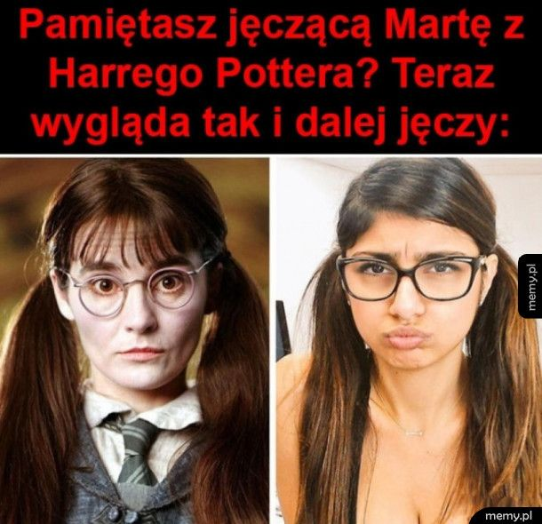 Jęcząca Marta z Harrego Pottera