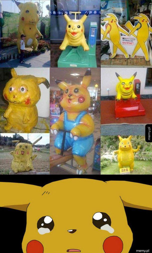 Pikachu, Chinese form