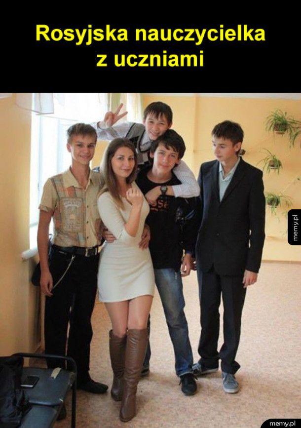 Rosyjska nauczycielka