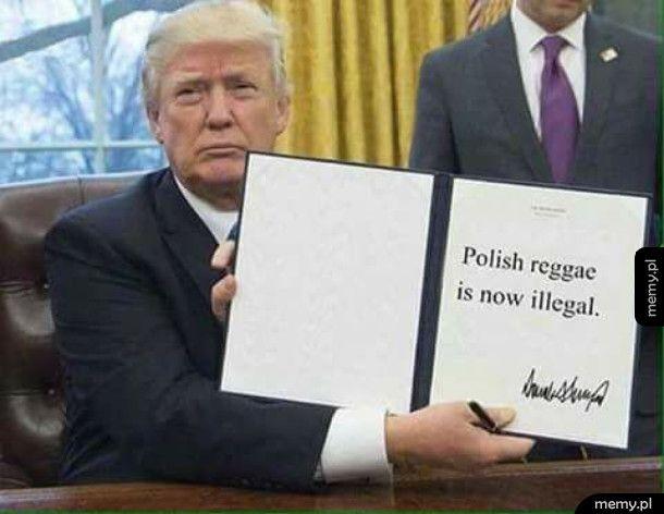 Polskie Reggae od dziś jest NIELEGALNE!
