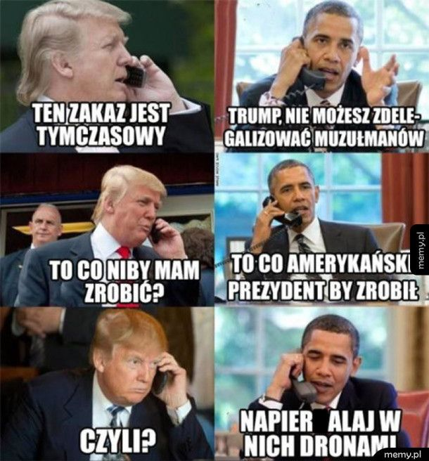 Niełatwo być prezydentem USA
