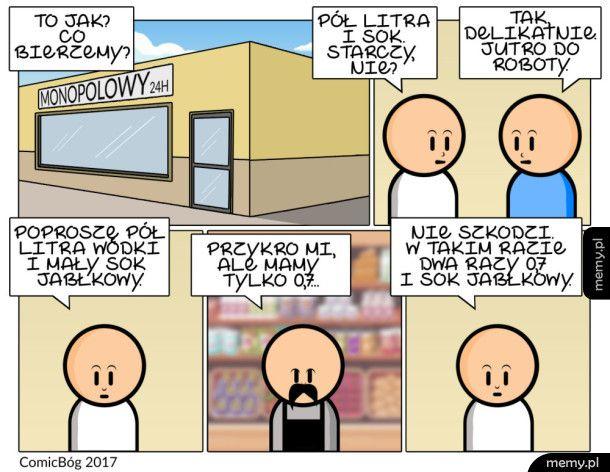Logika zakupów alkoholowych