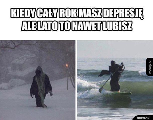 Kiedy cały rok masz depresję