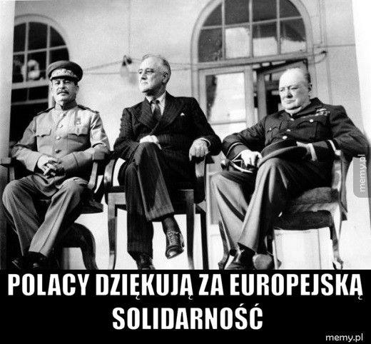 Polacy dziękują za europejską solidarność