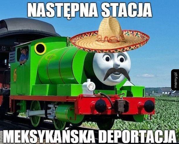 Ktoś zamawiał pociąg