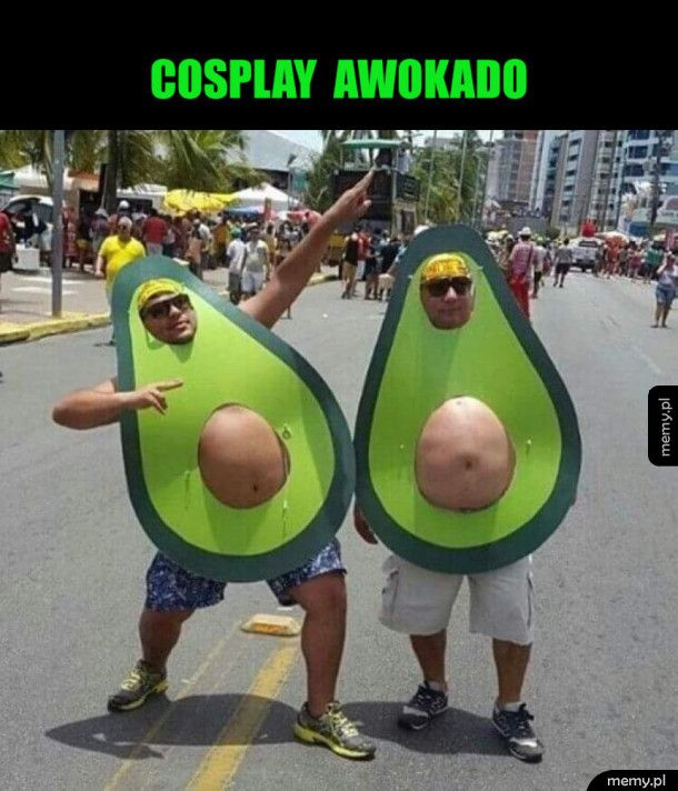 Zabawny cosplay