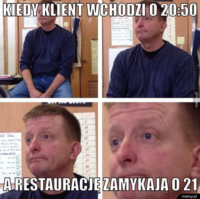 Typowe problemy kelnerów