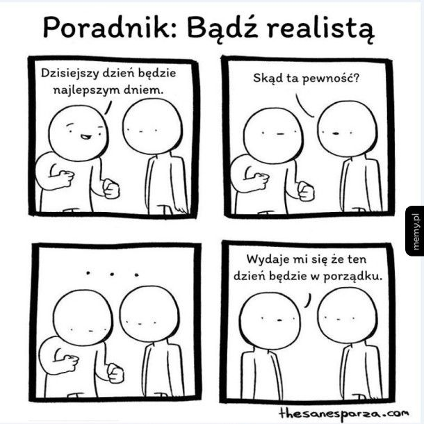 Optymista vs. realista