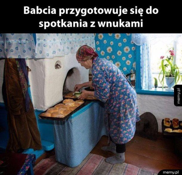 babcia jak zawsze