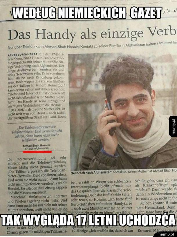 17 latek wg. niemieckich mediów