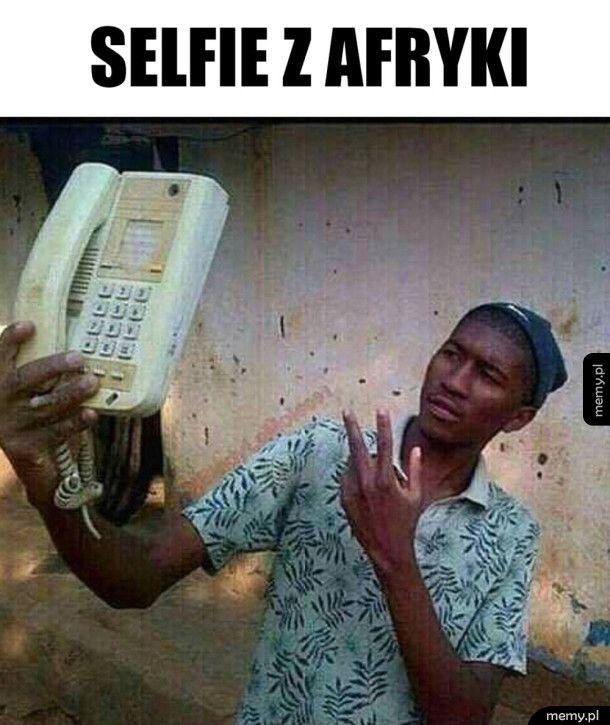 Afrykańskie selfie