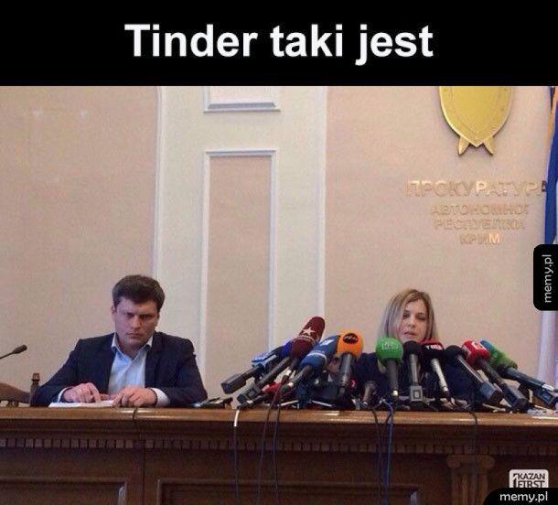 Tinder na jednym zdjęciu