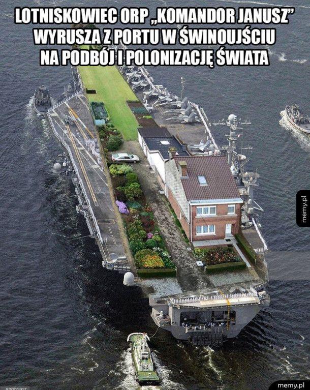 Polski lotniskowiec