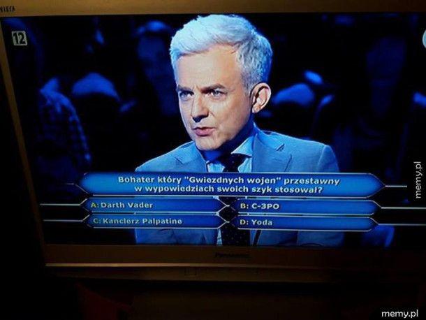 Trudne pytanie milionerzy