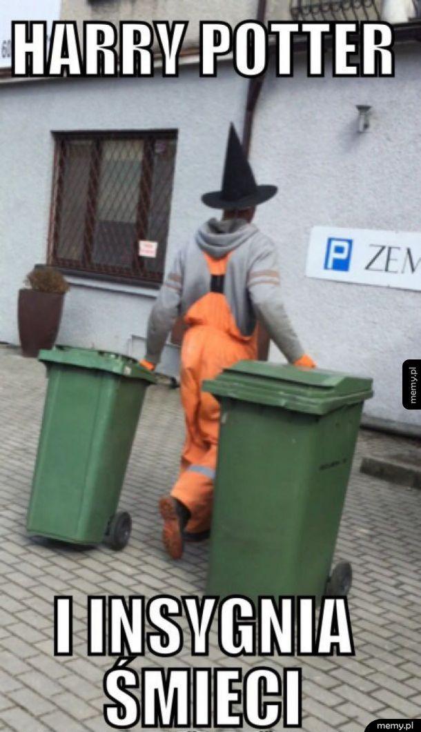 Hp i insygnia śmieci