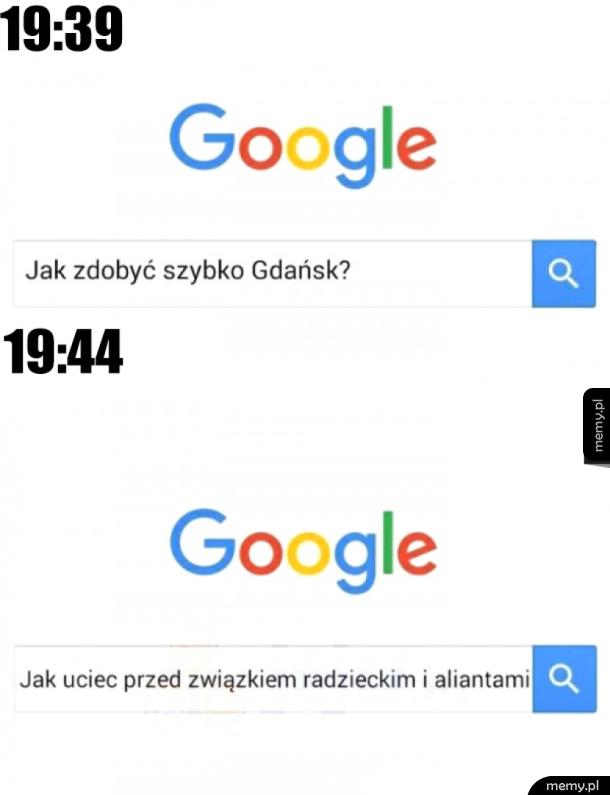 Pytanie do google