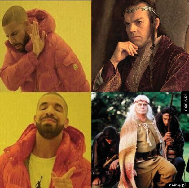 Jedyny prawdziwy przywódca elfów