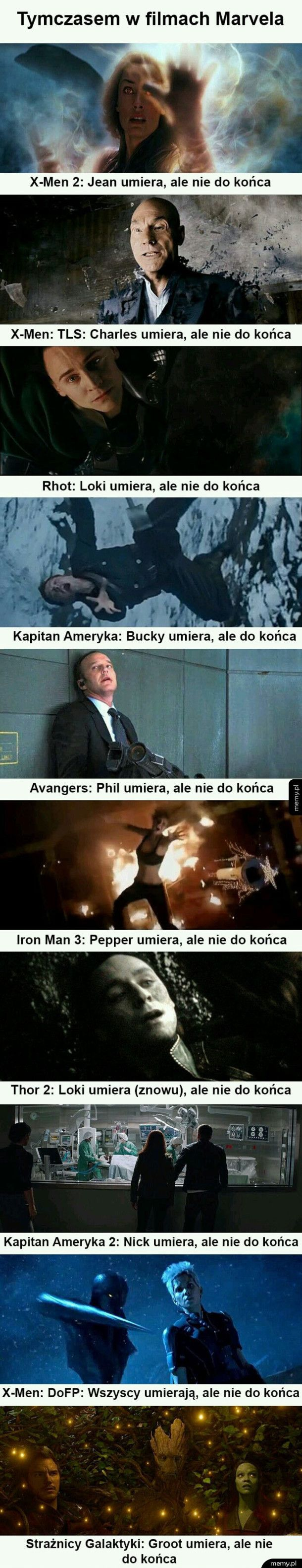 Marvel i logika.