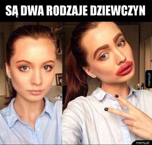 Dwa rodzaje dziewczyn
