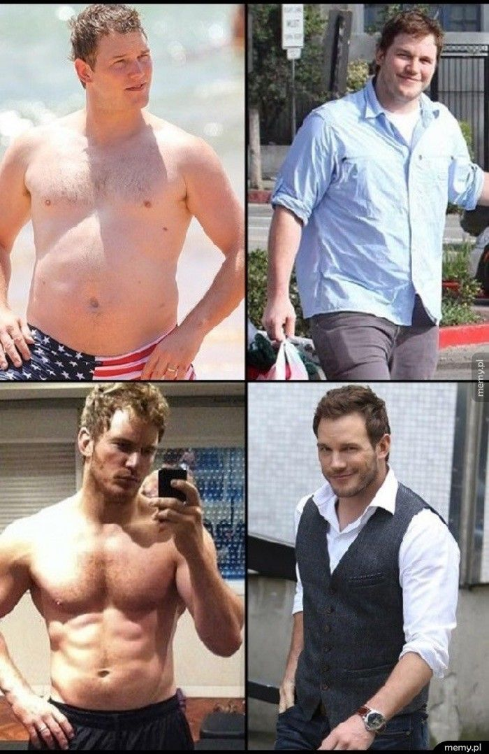 Chris Pratt transformacja
