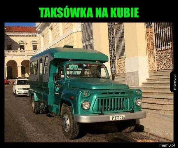 Oryginalna taksówka