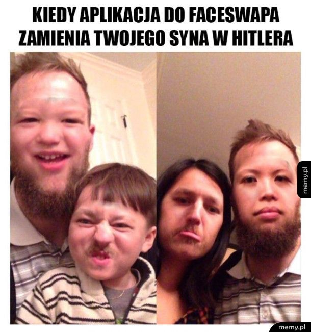 Niefortunny faceswap