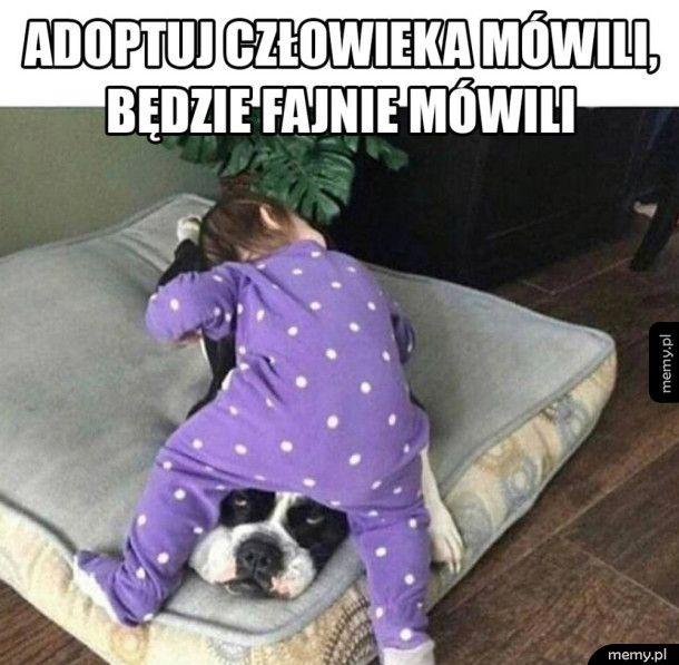 Adopcja człowieka