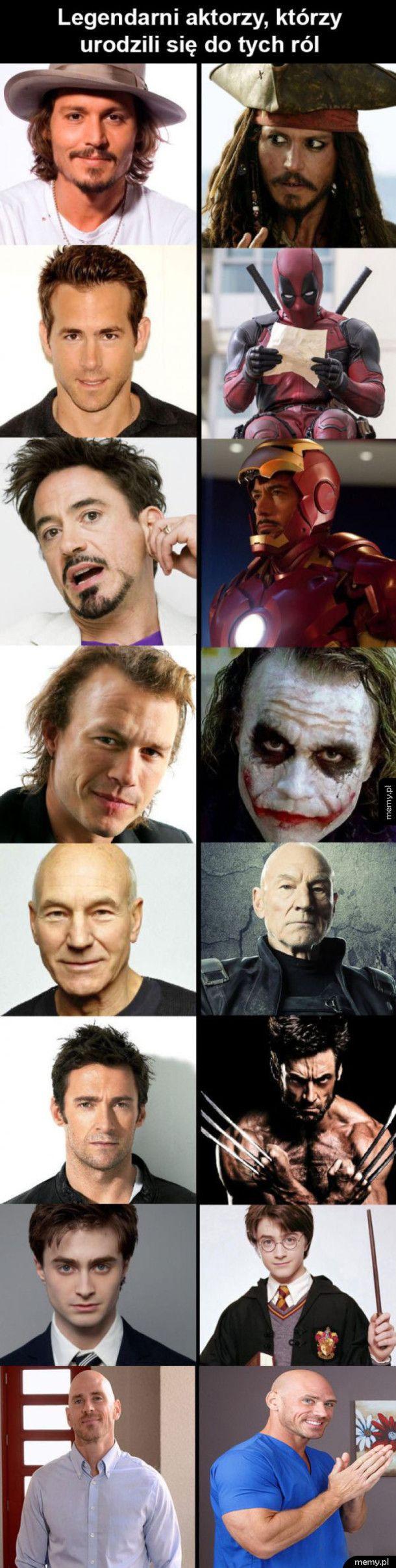 Genialni aktorzy i role