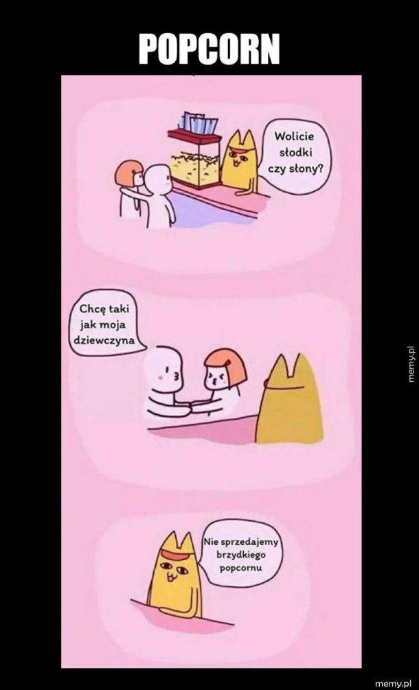 Kupowanie Popcornu