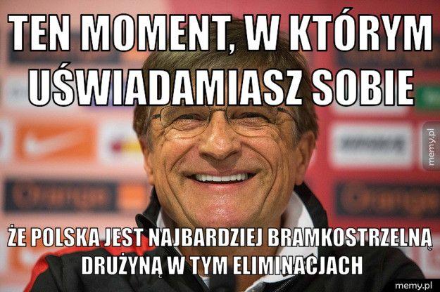 Polska najbardziej bramkostrzelną drużyną w tym eliminacjach