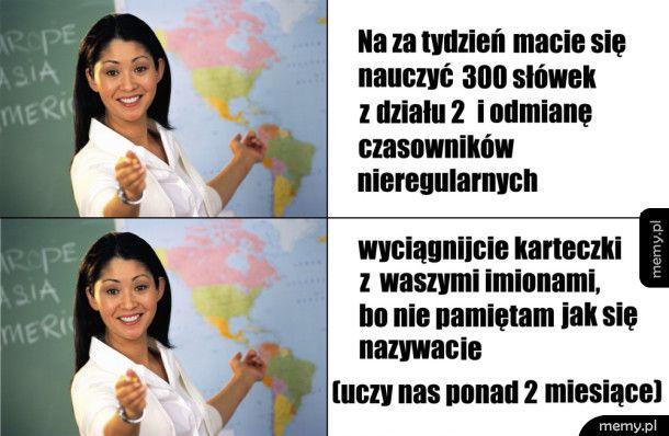 Typowy nauczyciel języków obcych