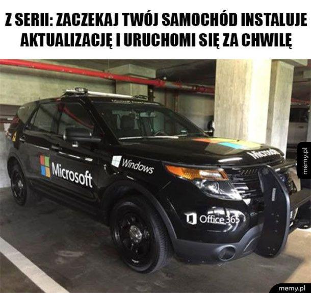 Samochód z problemami